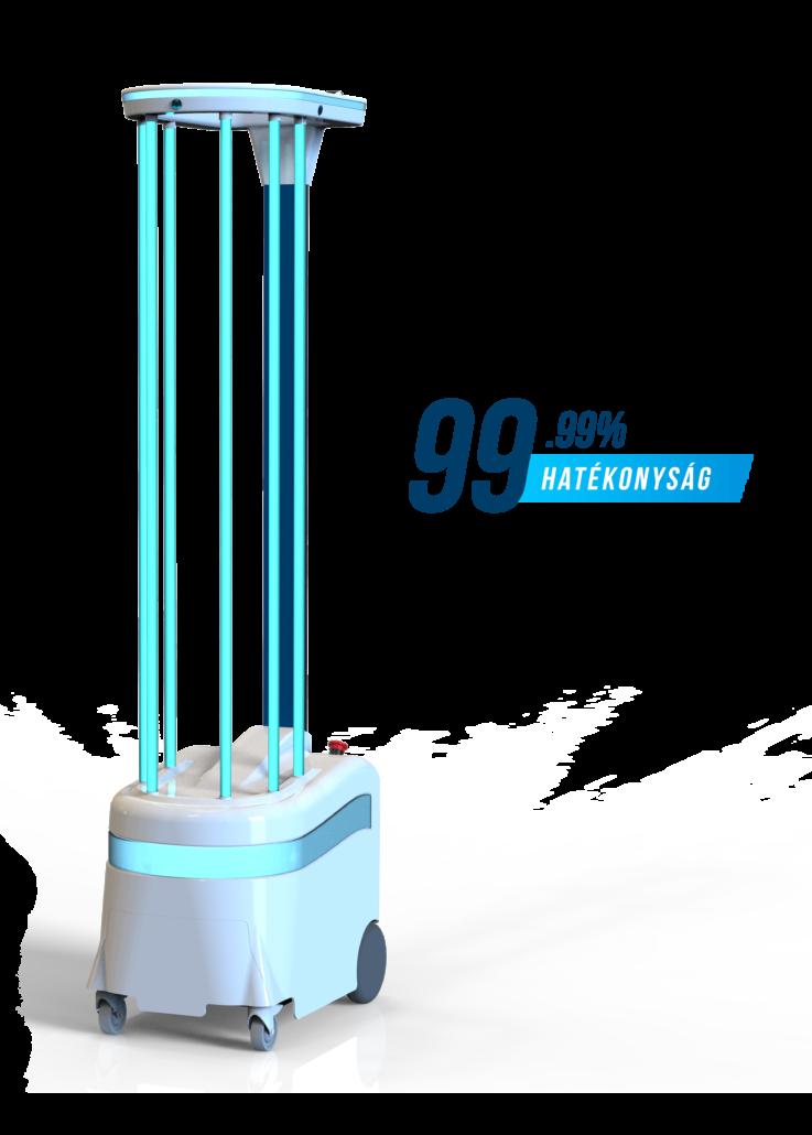 UVD Fertőtlenítő Robot